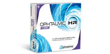 Ophtalmic HR 1 Day 90L