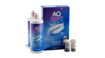 Aosept Plus Pack 2 X 360ML